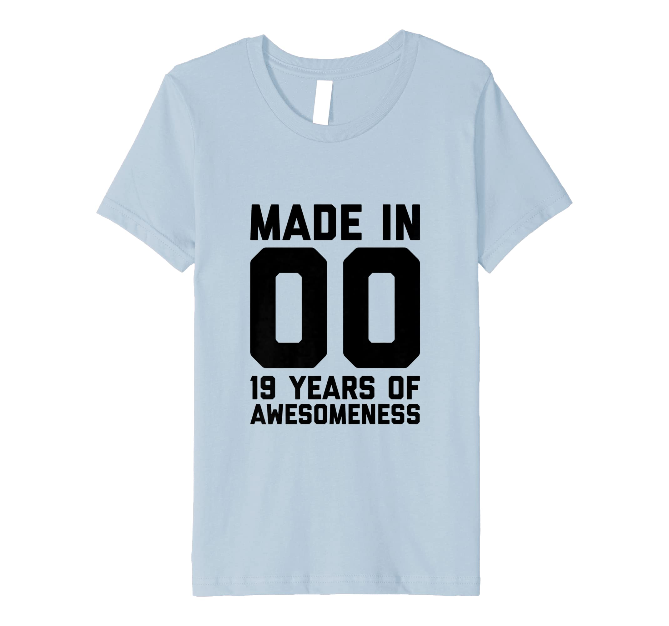 Amazon 19th Birthday Shirt Gifts Nineteen Age 19 Year Old Girl Boy Clothing