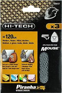 Piranha 120 g Mesh Sheet Mouse Sander - Set of 3
