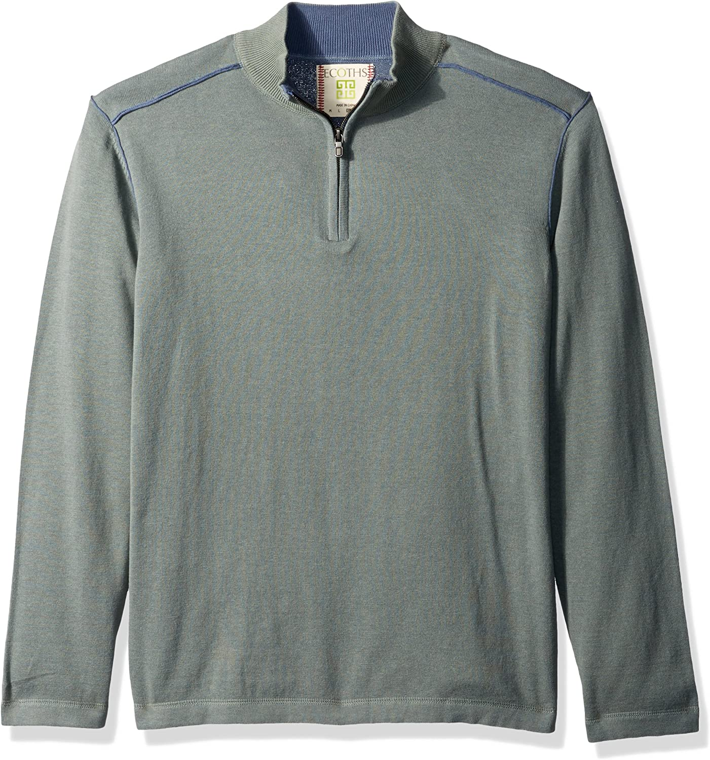 Ecoths Noah Zip Neck Sweater