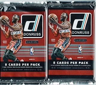 2014-15 Donruss Basketball Card Hobby Packs - Lot of 2 Packs