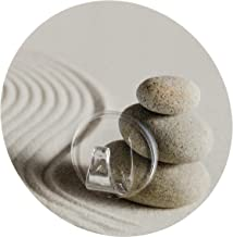 WENKO 20956100 Static-Loc wandhaken Uno zand and stone, bevestigen zonder boren, polyethyleentereftalaat, 8,5 x 2 x 8,5 c...