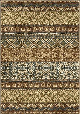 Orian Rugs Voyage Adena Tribal Area Rug 5 3 X 7 6 Multicolor Furniture Decor