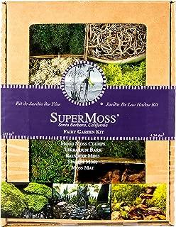 SuperMoss (50310) Fairy Garden Kit, Mixed Mosses, 4 oz.