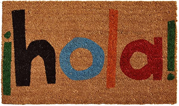 Calloway Mills 121561729 Hola Doormat 17 X 29 Multicolor