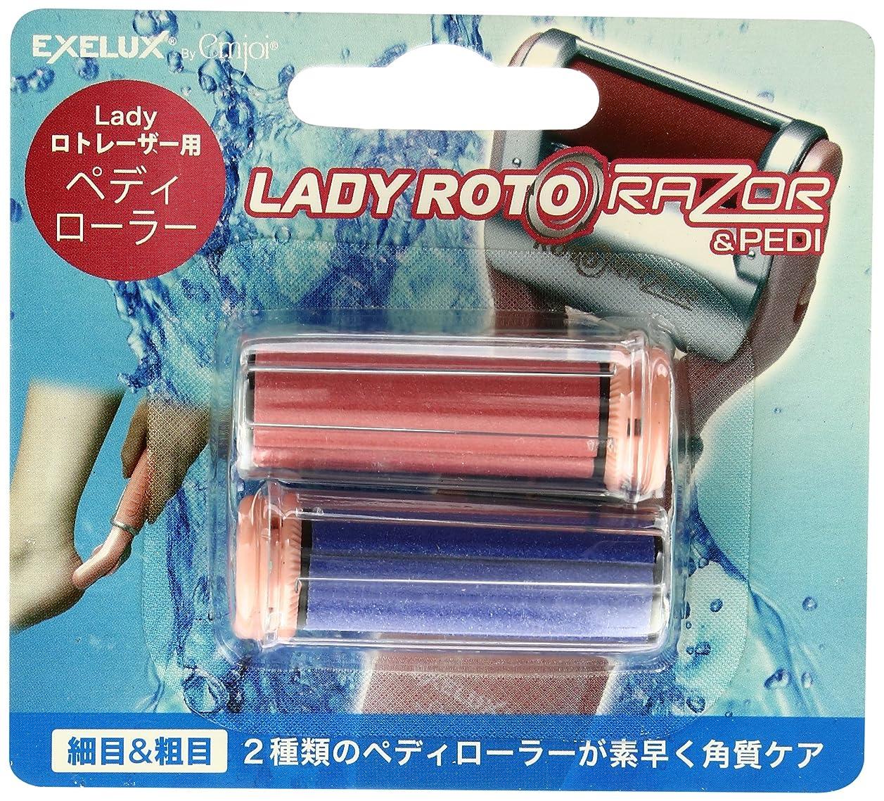 エコークレーターボックスmetex Lady ロトレーザー & Pedi用ペディローラー EJRR-LP2