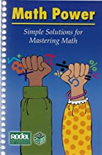 Math Power: Simple Solutions for Mastering Math (Bilingual - English/Spanish)