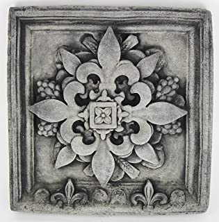 French Wall Plaque Home and Garden Decor Concrete Wall Decoration