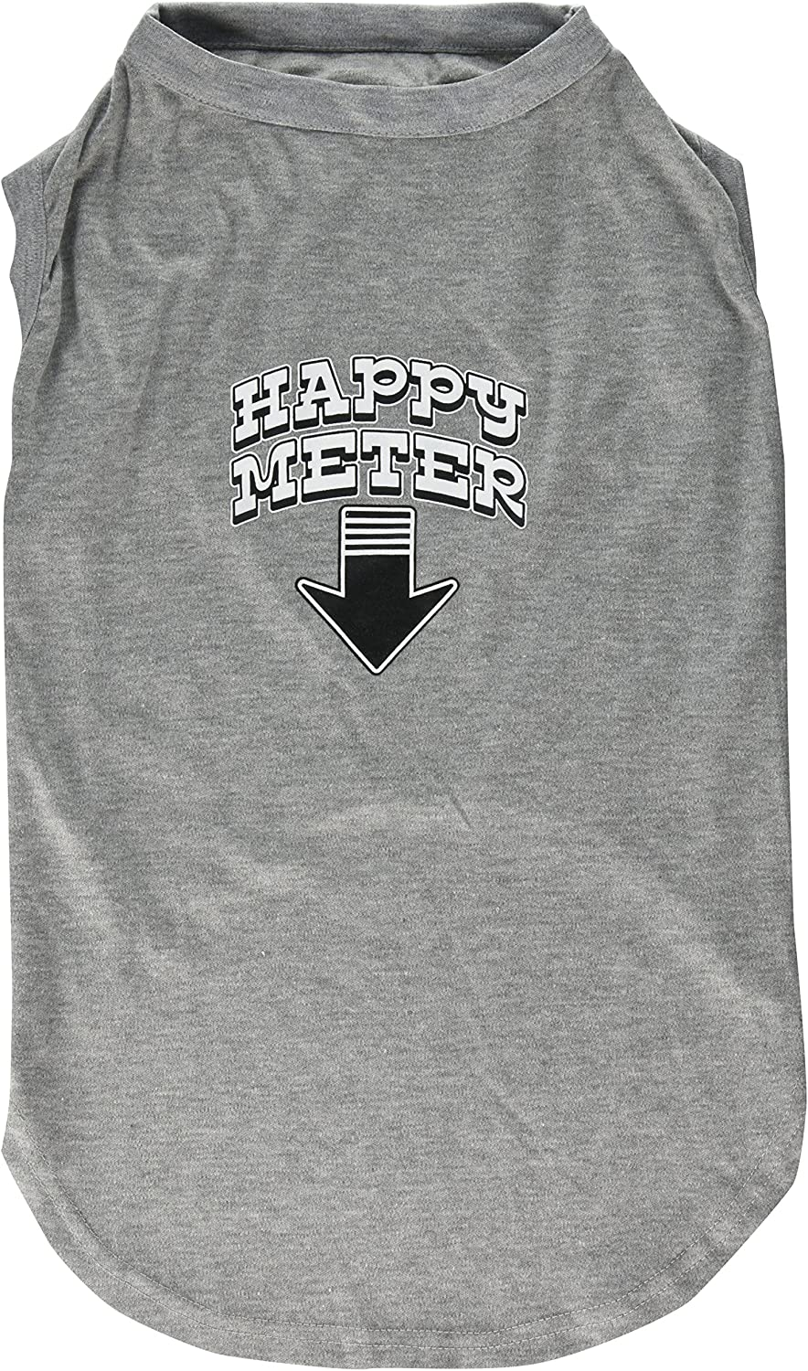 Mirage Pet Products 20Inch Happy Meter Screen Printed Dog Shirts, 3XLarge, Grey