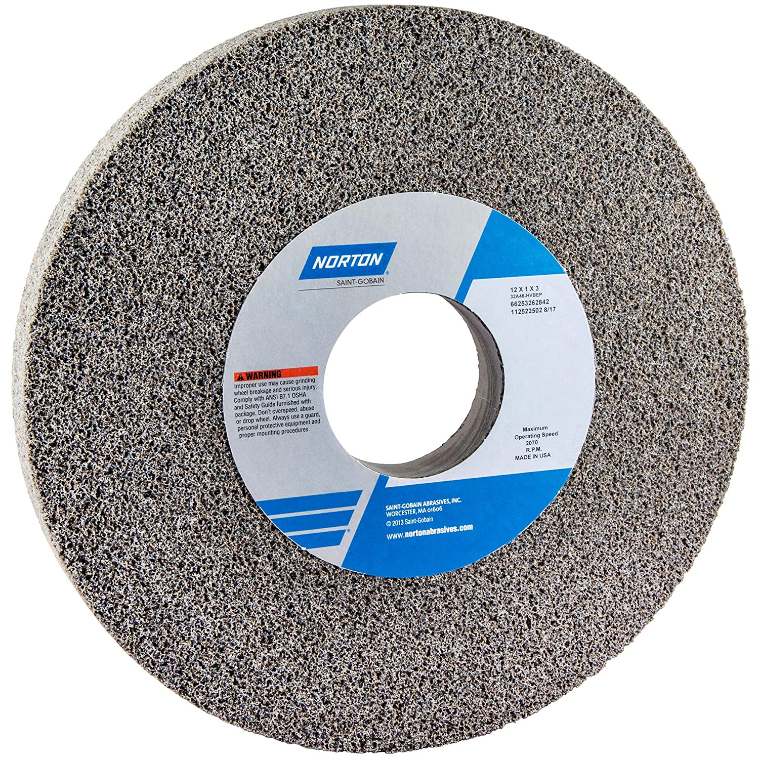 Norton 66253262842 Surface Grinding Wheels 1 Special price 12 3 Albuquerque Mall Size x