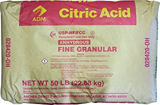Homebrewers Outpost AD610S Citric Acid (50 lb Sack)