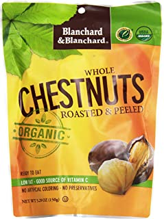 Blanchard & Blanchard Whole Chestnuts, Roasted & Peeled, 5.2 oz