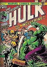 Marvel 'Hulk - Wolverine' Officially Licensed Poster (30.48 cm x 45.72 cm)
