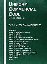 Uniform Commercial Code, 2014-2015 ed.