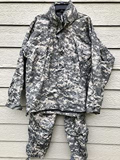 Us Army Issue Ecwcs Gen III Level 6 Gore Tex Acu Extreme Cold/Wet Weather Set - Medium Regular.