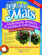 Soil Moist Mats for Hanging Baskets Planters and Containers 6pc Pack (Thr?? ?ack)