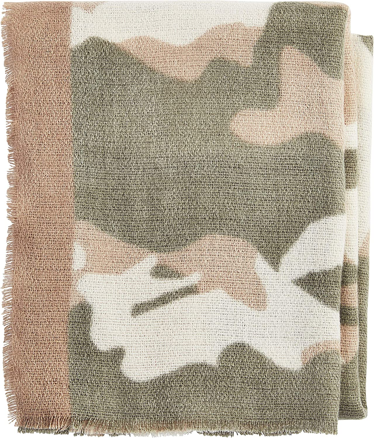 Mud Pie womens gift Limited time trial price Camo Scarf