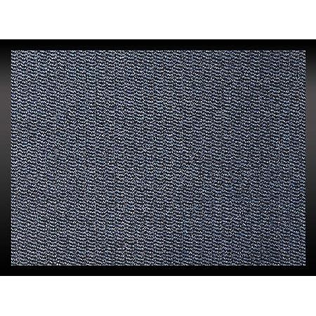 tapis antid/érapant int/érieur et ext/érieur 40 x 60 cm Polypropyl/ène tapis de barri/ère /à profil bas pour porte avant et couloir Tapis d/'entr/ée Wellmax Paillasson anti-salissures Beige//noir