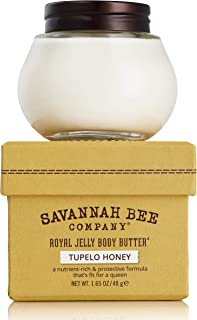Royal Jelly Body Butter TUPELO HONEY by Savannah Bee Company - 1.65 Ounce