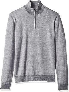 Amazon Brand - Goodthreads Men's Merino Wool Quarter Zip...