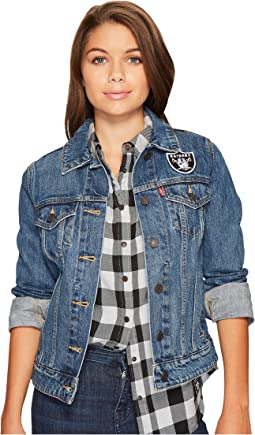 Levi's® Womens - Raiders Sport Denim Trucker