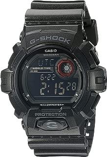 Casio G-Shock Garish Color Super Illuminator - Black Dial w/Red - Flash Alert