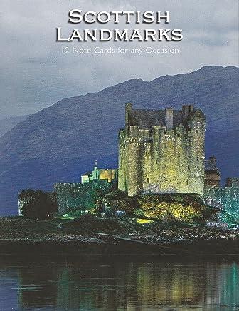 Scottish Landmarks Note Cards 12 Pack