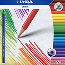 Lyra 2521240 Osiris Tri Perm Etui K24 24 Farbstifte, dreikant