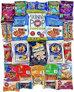 LOW CALORIE Snack Pack Assortment Variety Healthier Packs Bulk (30 Piece)