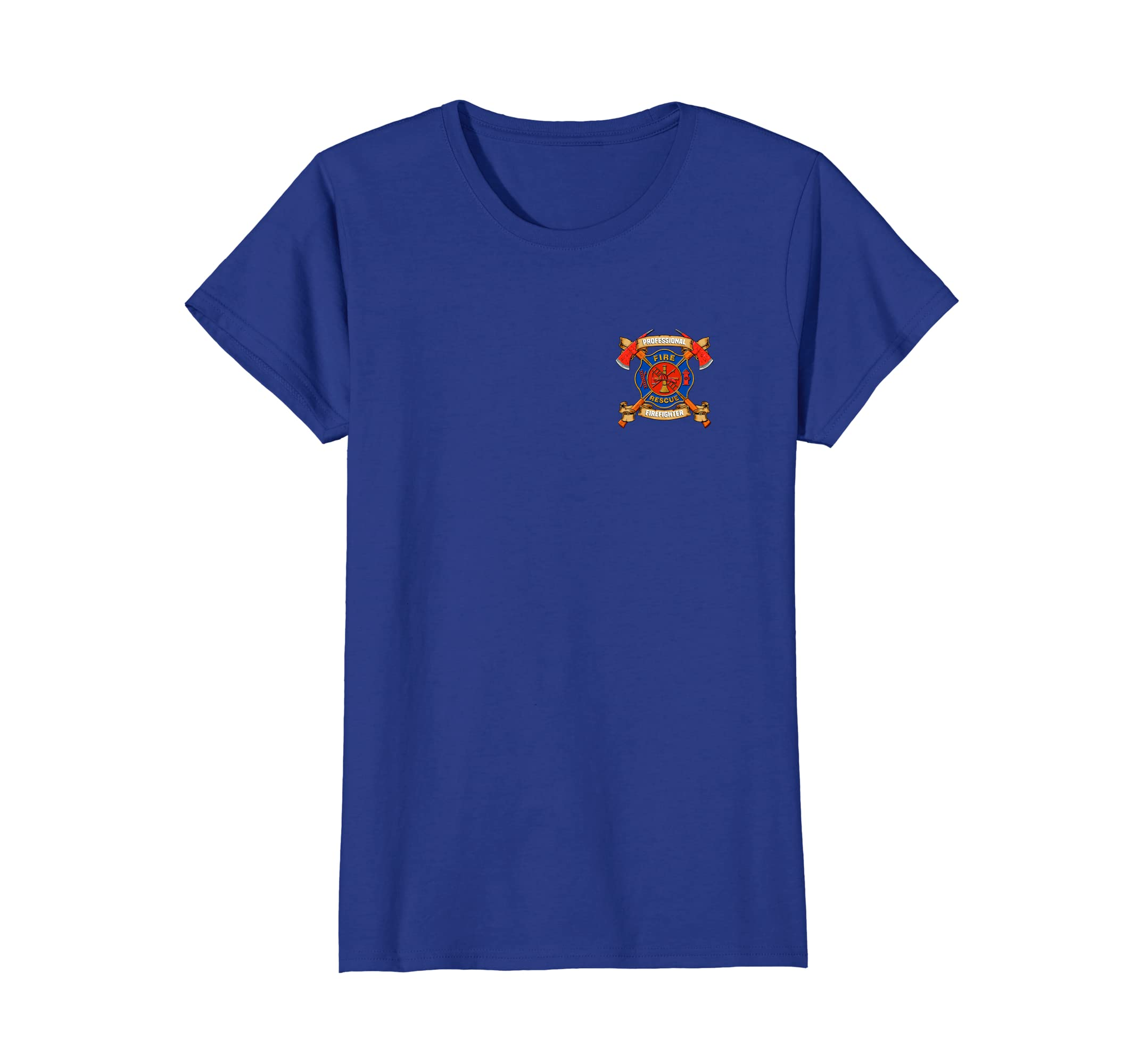 Professional Firefighting Fire Rescue Department T Shirt Teleout