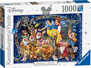 Ravensburger 19674 Disney Snow White Collector's Edition 1000 Piece Puzzle for Adults, Every Piece is Unique, Softclick Technology Means Pieces Fit Together Perfectly