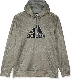 adidas Men's Ti Fleece Open Hem Logo Sweatshirt