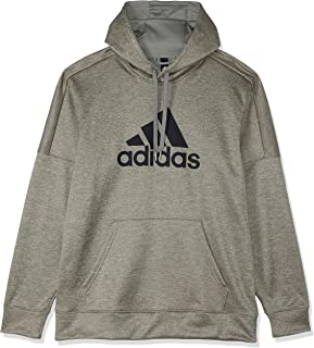 adidas Men's Ti Fleece Open Hem Logo Sweatshirt