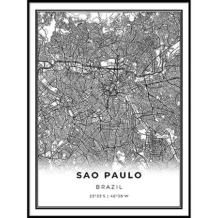 TRAVEL TOURISM SAO PAULO BRAZIL OCTAVIO FRIAS OLIVEIRA BRIDGE PRINT BMP11467