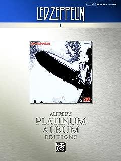 Led Zeppelin: I Platinum Bass Guitar: Authentic Bass TAB (Alfred's Platinum Album Editions)