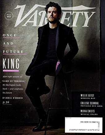 VARIETY Magazine March 19, 2019 KIT HARRINGTON GAME OF THRONES Cover, Willie Geist, College Scandal