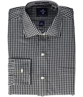 Long Sleeve Magnetically-Infused Button-Down Shirt