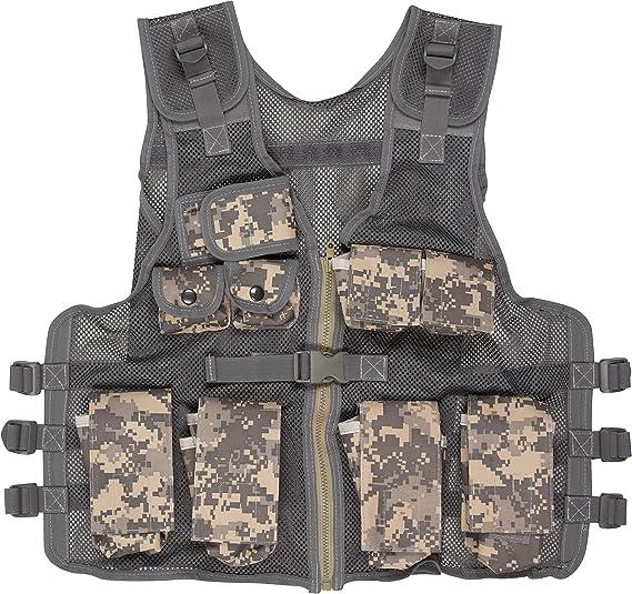 Modern Warrior Junior Digital Camo Tactical Vest