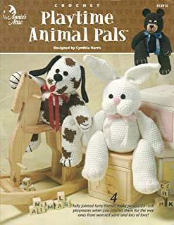 Playtime Animal Pals - Crochet Pattern Pamphlet - #872016 - Annie's Attic