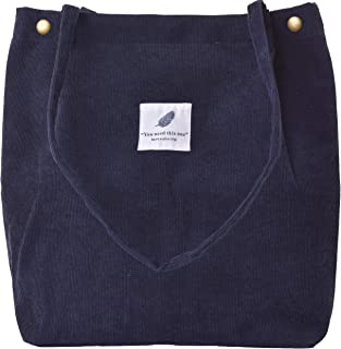 VOKUVIKU Groß Cord Tasche Damen Ultraleicht Umhängetasche