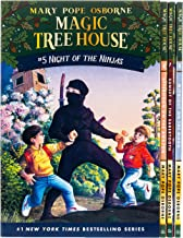 Magic Tree House Boxed Set, Books 5-8: Night of the Ninjas, Afternoon on the Amazon, Sunset of the Sabertooth, and Midnigh...