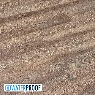 Turtle Bay Floors Waterproof Click 5.5mm WPC Flooring - Rustic Sawn Oak Floating Floor - RIVERWALK (Sample)
