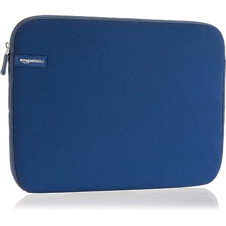 """Amazon Basics NC1506164F1 - Funda para ordenadores portátiles (13.3""""), color azul marino"""