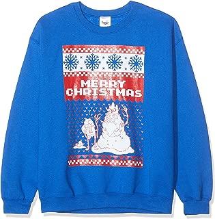 Merry Christmas Design Crew Neck Sweatshirt