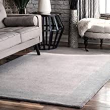 Amazon Com Grey Hand Tufted Rug