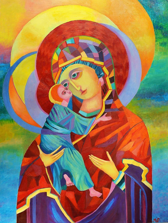 Rare Madonna and Max 65% OFF Child POSTER Print Icon Vladimir Polish P A2