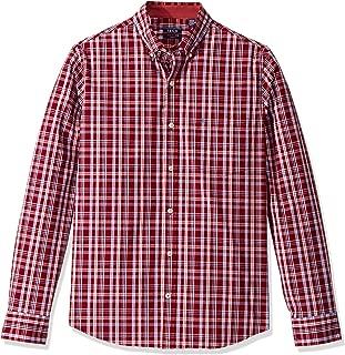 Men's Premium Performance Natural Stretch Check Long Sleeve Shirt