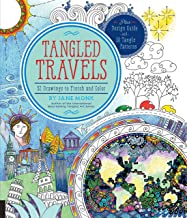 Tangled Travels: 52 Drawings to Finish and Color