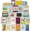 Hallmark All Occasion Handmade Boxed Greeting Card Assortment (Pack of 24)—Birthday, Baby, Wedding,