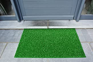 AstroTurf 10187320FG 55 x 90 cm Classic High Performance Outdoor Scraper Doormat - Spring Green
