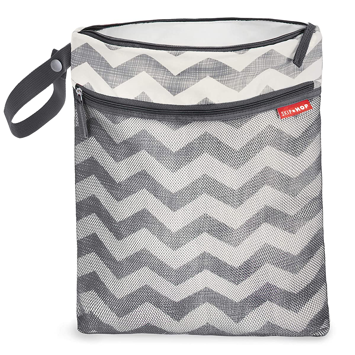 Skip Hop Waterproof Wet Dry Bag, Grab & Go, Chevron